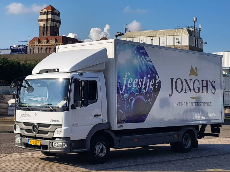 Jongh's Tentenverhuur auto